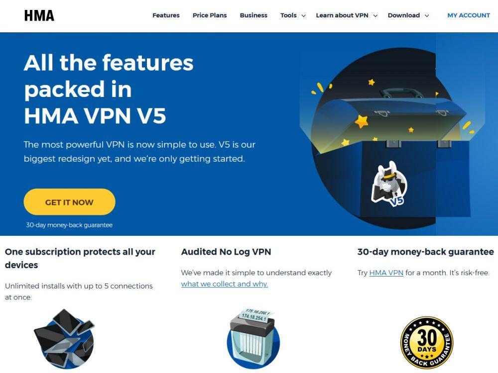 hidemyass.com Screenshot