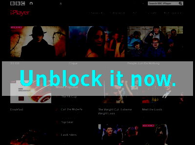Click here to unblock BBC iPlayer