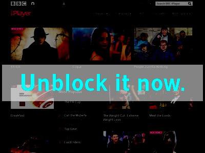Click here to unblock BBC iPlayer