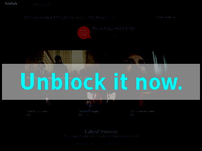 Click here to unblock Blinkbox