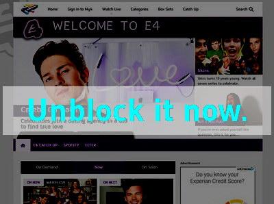 Click here to unblock E4