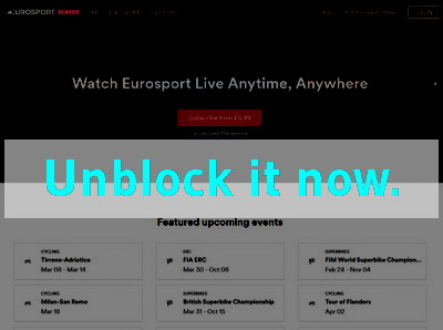 Click here to unblock Eurosport Player