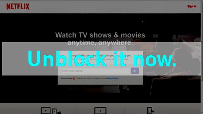Click here to unblock Netflix-UK