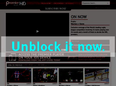 Click here to unblock PremierPlayer