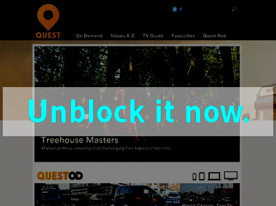 Click here to unblock Quest TV