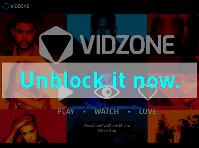 Click here to unblock Playstation Vidzone